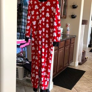 Mickey Mouse One Piece PJ's